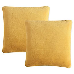 Morgan Home Purely Soft Solid Square Throw Pillows (Set of 2)