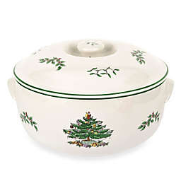 Spode® Christmas Tree Round Covered Deep Dish Casserole