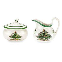 Spode® Christmas Tree Sugar and Creamer Set