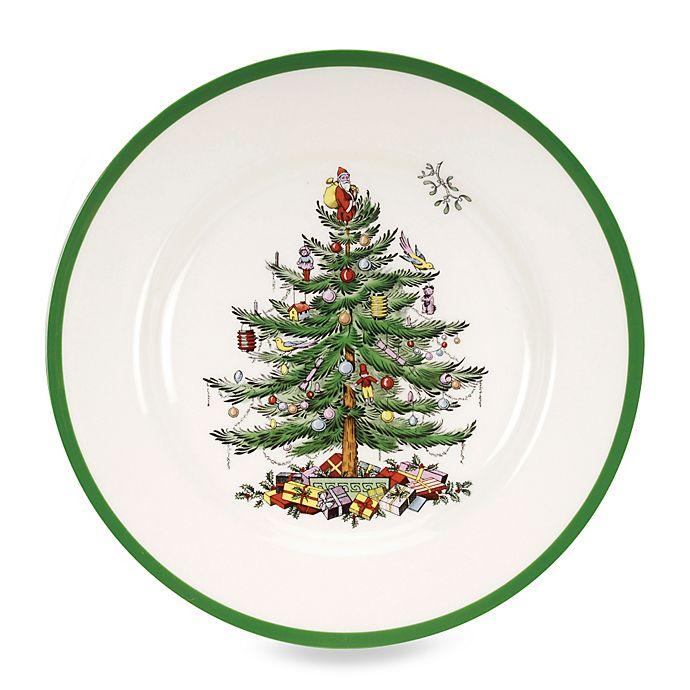 Alternate image 1 for Spode® Christmas Tree Dinner Plate
