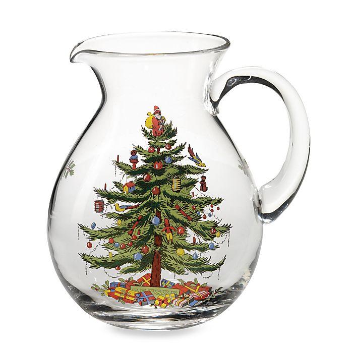 Alternate image 1 for Spode® Christmas Tree Pitcher