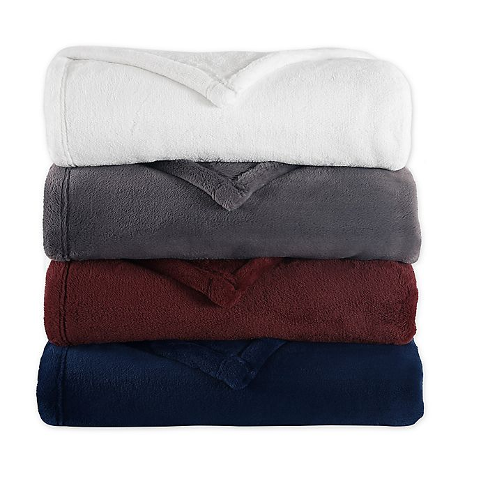 Alternate image 1 for Purely Soft Plush Throw Blanket