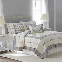 Nostalgia Home™ Cathedral Window Reversible Quilt