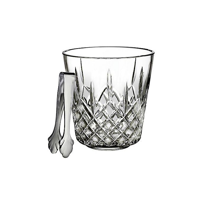 Alternate image 1 for Waterford® Lismore Ice Bucket with Tongs