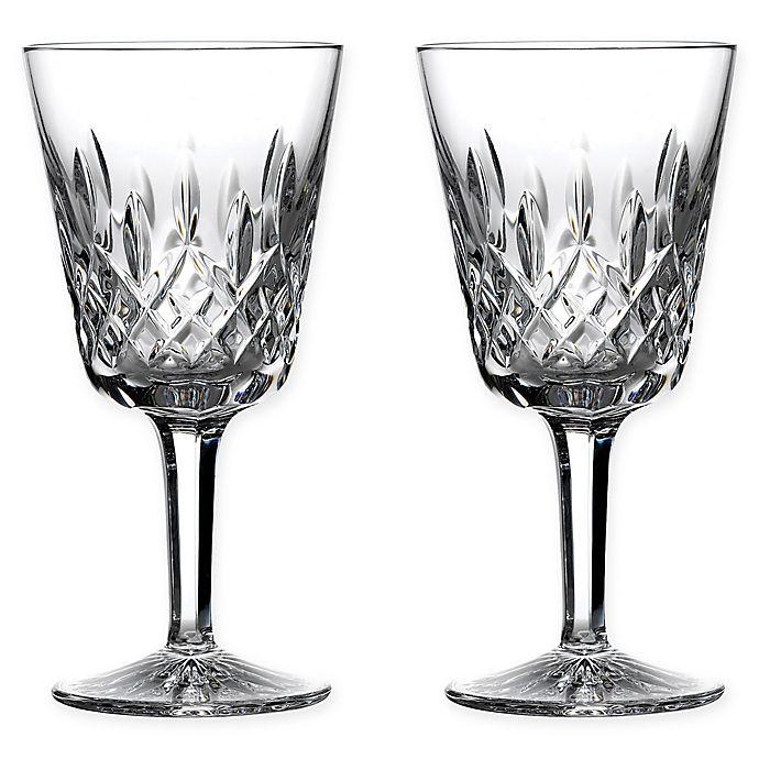 Alternate image 1 for Waterford® Lismore Goblets (Set of 2)