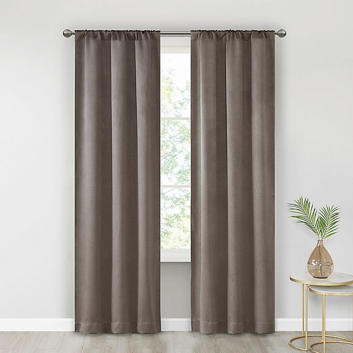 Alternate image 1 for SALT™ Alberta 2-Pack Rod Pocket Room Darkening Window Curtain Panels