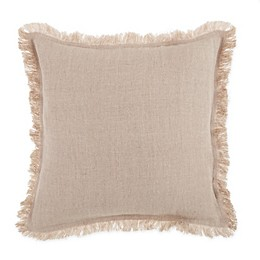 Bee & Willow™ Home Solid Linen Square Throw Pillow