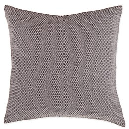Bee & Willow™ Home Woven Jacquard Square Throw Pillow in Taupe