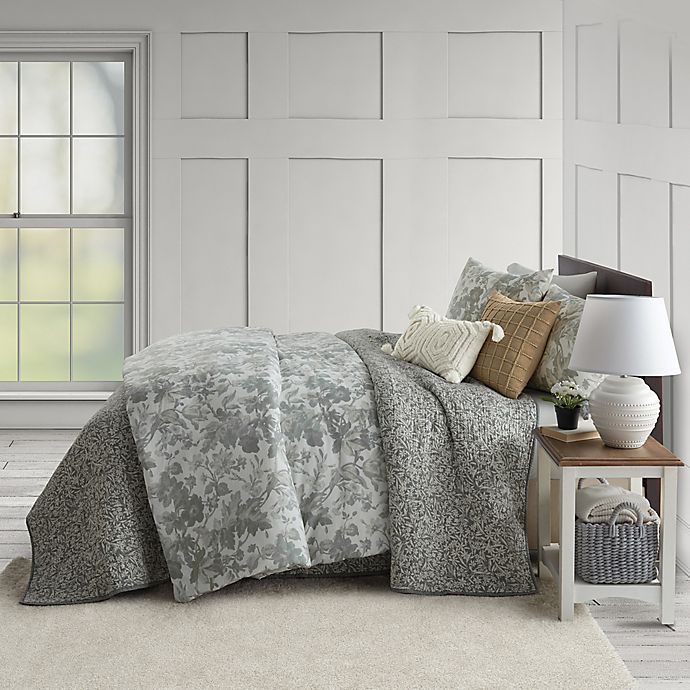 Alternate image 1 for Bee & Willow™ Home Ditsy Floral Coverlet