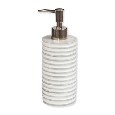 Now House By Jonathan Adler Vapor Lotion Pump Dispenser In Silver Bed Bath Beyond