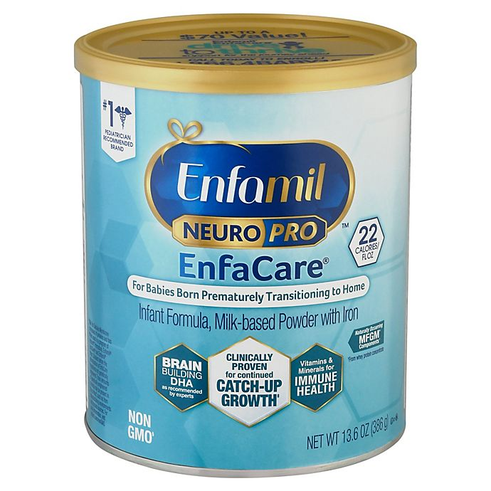 Alternate image 1 for Enfamil™ NeuroPro™ EnfaCare® 13.6 oz. Milk-Based Infant Formula Powder with Iron