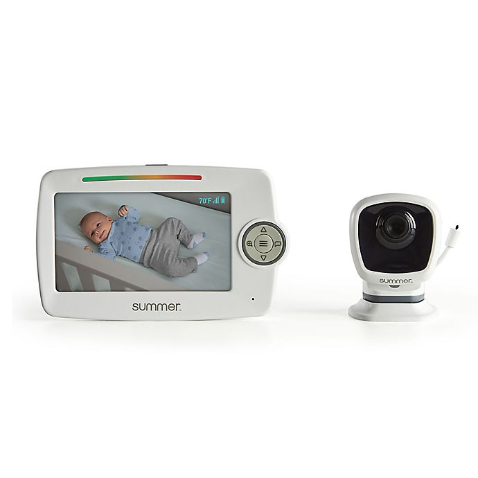 Alternate image 1 for Summer Infant LookOut 5-Inch Color Video Baby Monitor with Camera