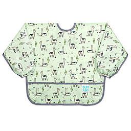 Bumkins® Size 6-24M Llamas Sleeved Bib in Green
