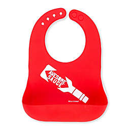 "Bella Tunno ""Awesome Sauce"" Wonder Bib in Red"