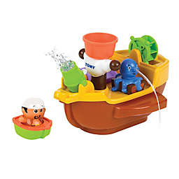 TOOMIES® Pirate Ship Bath Toy in Yellow