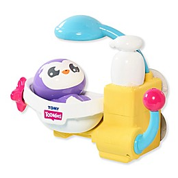 TOOMIES® Shower and Scrub Penguin Bath Toy in Purple