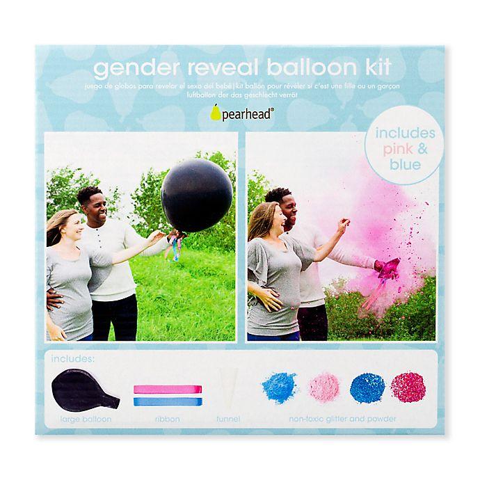 Alternate image 1 for Pearhead® Gender Reveal Balloon Kit