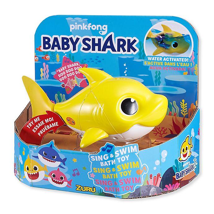 Alternate image 1 for Zuru Robo Alive Baby Shark Bath Toy