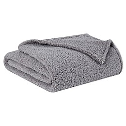 Brooklyn Loom Marshmallow Sherpa Twin/Twin XL Throw Blanket