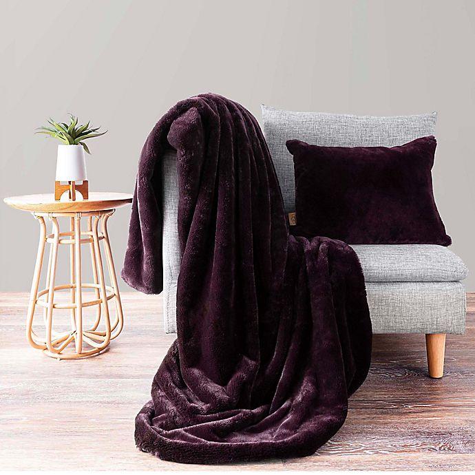 Alternate image 1 for UGG® Polar Throw Pillow and Blanket Gift Set