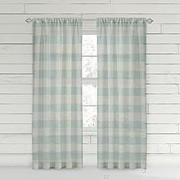 Bee & Willow™ Home Buffalo Check Rod Pocket Window Curtain Panel
