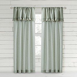 Bee & Willow™ Home Ruffle Rod Pocket Window Curtain Panel