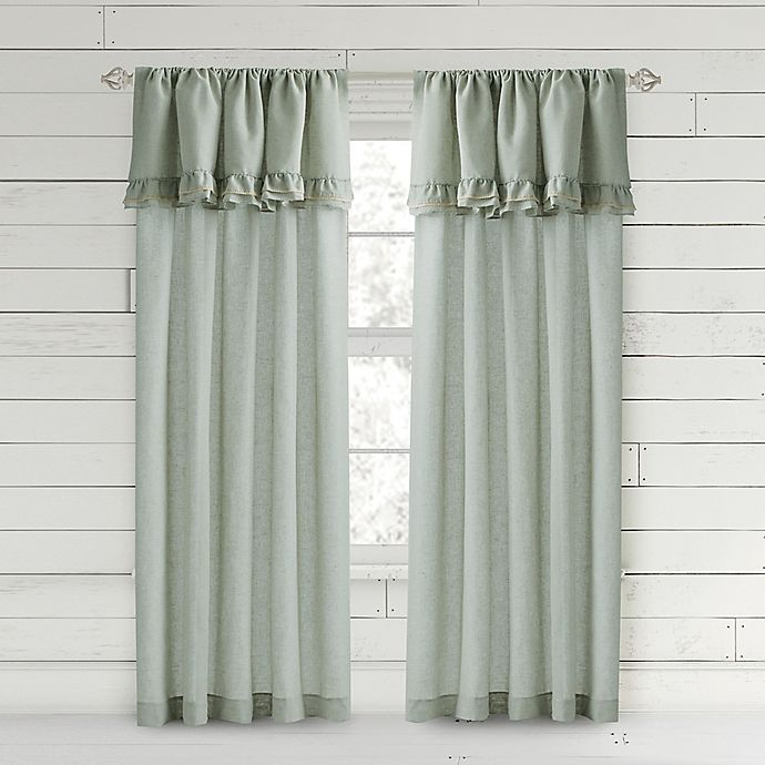 Alternate image 1 for Bee & Willow™ Home Ruffle Rod Pocket Window Curtain Panel