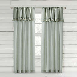 Bee & Willow™ Home Ruffle Light Filtering Rod Pocket Window Curtain Panel
