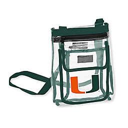 University of Miami Gameday Clear Crossbody Bag