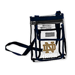 University of Notre Dame Gameday Clear Crossbody Bag