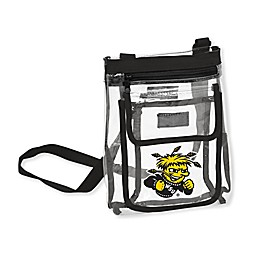 Wichita State University Gameday Clear Crossbody Bag