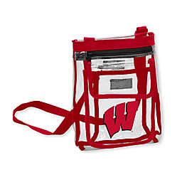University of Wisconsin Gameday Clear Crossbody Bag