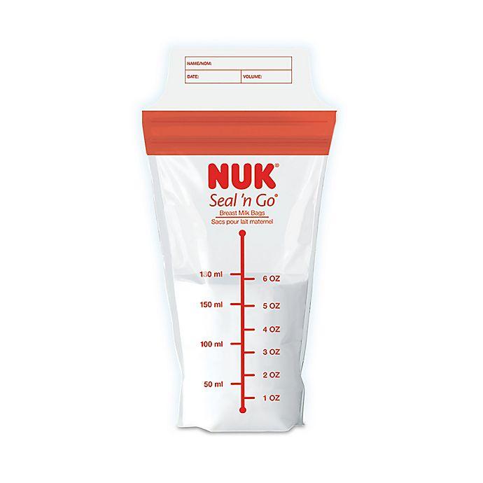 Alternate image 1 for NUK® Seal 'n Go 100-Pack 6 oz. Breastmilk Storage Bags