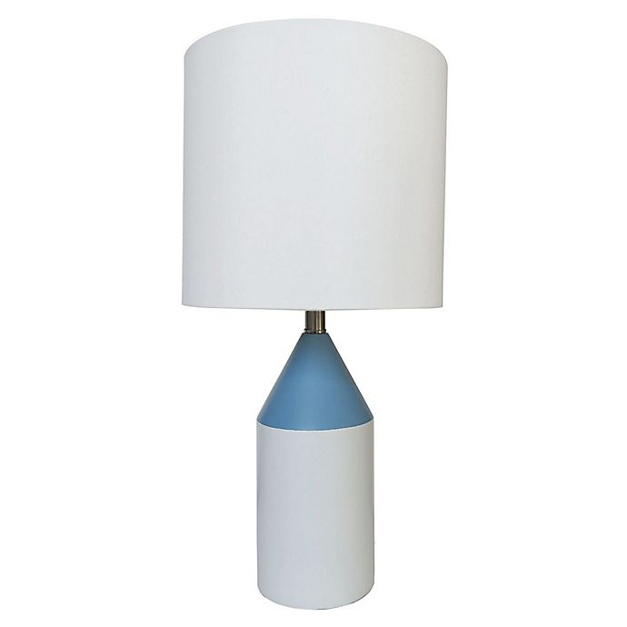 Alternate image 1 for Marmalade™ Clinton Table Lamp in Blue/White