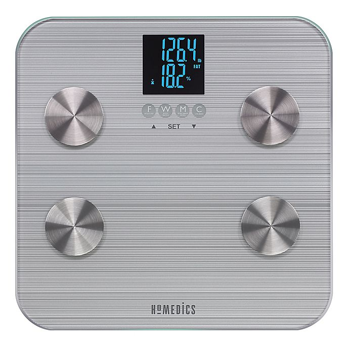 Alternate image 1 for HoMedics® 531 HealthStation® Body Fat Bathroom Scale