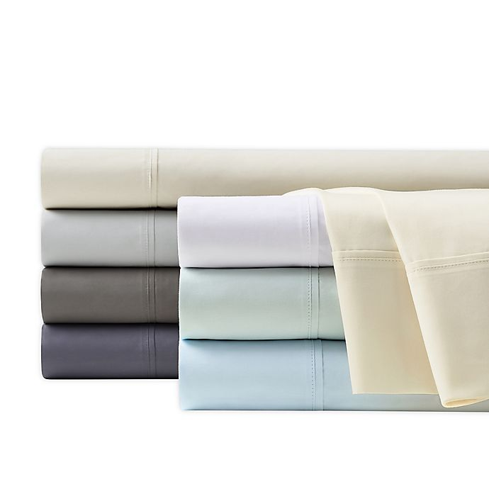 Alternate image 1 for Wamsutta® 350-Thread-Count Egyptian Cotton Sheet Set