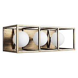 Varaluz® Plaza 3-Light Wall Mount LED Vanity Light
