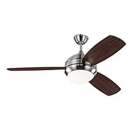 Monte Carlo Discus Trio 52-Inch Single LED Light Ceiling Fan