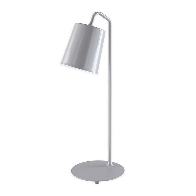 Alternate image 1 for Southern Enterprises© Piper LED Table Lamp with Metal Shade