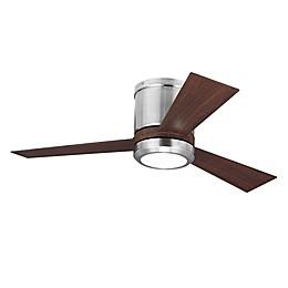 Monte Carlo Clarity Single-Light Indoor/Outdoor Ceiling Fan