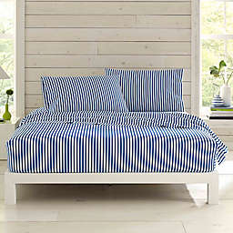 Marimekko® Ajo Twin XL Sheet Set in Blue