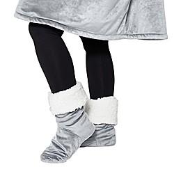 Comfy Feet Sherpa Slipper Socks