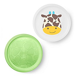 SKIP*HOP® Zoo Smart Non-Slip Plates (Set of 2)