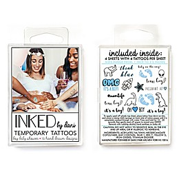 16-Count Boys Baby Shower Tattoos