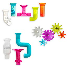 Boon 13-Piece Pipes and Tubes Bath Toy Set