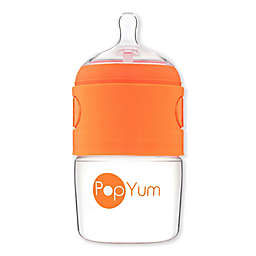 PopYum Anti-Colic Wide Neck Slow Flow Formula Making Bottle in Orange
