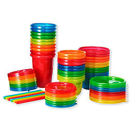 The First Years® 30-Piece Variety Set Take & Toss Cup Bowl and Storage Set