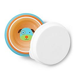 SKIP*HOP® 4-Piece Zoo Smart Serve Non-Slip Bowls