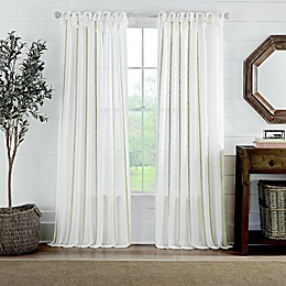 Cambria® Fontaine Tie Top Window Curtain Panel