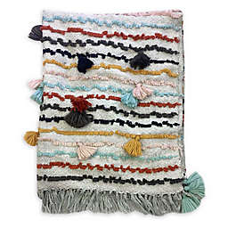 Global Caravan™ Tassel Stripe Multicolor Throw Blanket